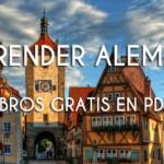 Cursos gratis de alemán en PDF