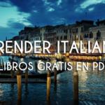 Libros gratis en PDF para aprender italiano